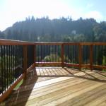 Simple deck rot repair