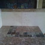 Tile inlay detail